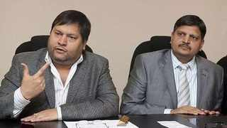 Gupta brothers Ajay and Atul. File picture: African News Agency (ANA)