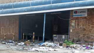 Hammarsdale Hyper, KZN one of the shops affected during the looting and violence between KwaZulu Natal and Gauteng. Picture: Bongani Mbatha /African News Agency (ANA)