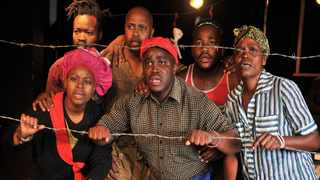 Hard-hitting play Refugees focuses on the harsh realities of people living in refugee camps in Africa. Picture: Supplied