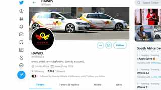 Hawks react to fake Twitter account: 'We are not on social media'