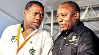 Health Minister Zweli Mkhize and President Cyril Ramaphosa. Picture: Bongiwe Mchunu/African News Agency (ANA) Archives