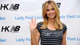Heidi Klum has told her daughter it's okay to say no to modelling jobs. Photo by Chris Pizzello/Invision/AP