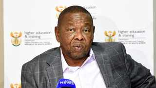 Higher Education Minister Blade Nzimande Picture: Simone Kley