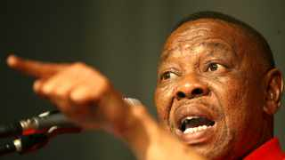 Higher Education, Science and Innovation Minister Blade Nzimande. Picture: Werner Beukes/SAPA