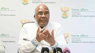 Home Affairs Minister Aaron Motsoaledi. Picture: Jacques Naude/African News Agency(ANA)