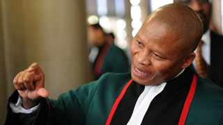 Human rights group #Africa4Palestine has officially filed papers opposing Chief Justice Mogoeng Mogoeng's appeal of the Judicial Conduct Committee's decision that he apologise for his pro-Israel comments. File picture: Werner Beukes/SAPA