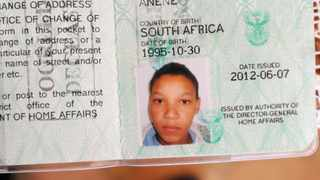 ID picture of Anene Booysen