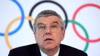 IOC chief Thomas Bach expressed confidence on Monday that the Tokyo Games will be held successfully next year. Photo: Reuters