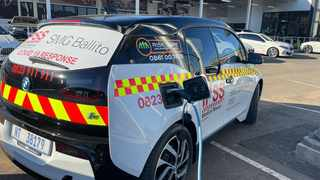IPSS Medical Rescue has introduced an electric vehicle to its emergency fleet. Picture: Supplied