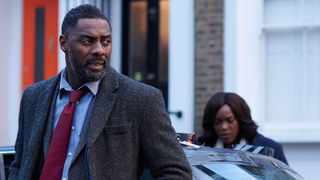 Idris Elba and Wunmi Mosaku in 'Luther'. Picture: BBC