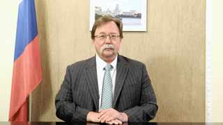 Ilya Rogachev is the ambassador of the Russian Federation to the Republic of South Africa and the Kingdom of Lesotho.