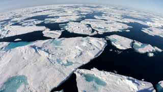 In 2012, the area of sea covered by ice in the Arctic during the summer reached a record documented low.