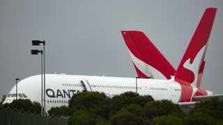 In November, Qantas CEO Alan Joyce said the Australian airline will probably require proof of vaccination for travel once the shots are widely available. Picture: AP