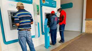In amended regulations which came into effect on Thursday, COGTA Minister Dr Nkosazana Dlamini Zuma said banks and other financial institutions must ensure hand sanitisers are available at all ATMs. File picture: Bhekikhaya Mabaso/African News Agency(ANA)