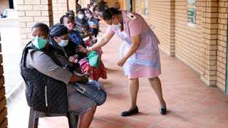 In this file picture, KwaZulu Natal teachers wait to be vaccinated. Picture: Motshwari Mofokeng/African News Agency (ANA)