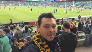 Independent Media's Wynona Louw sat down with Junaid Moerat, pictured at Twickenham, to assess how sports organisations have adapted to the coronavirus pandemic. Photo: Supplied
