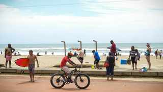 Indicators show that 45 000 visitors descended to Durban for the Easter break, with hotel occupancy rates peak at an average of 60 percent. Picture: Motshwari Mofokeng /African News Agency (ANA)