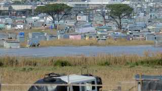 Informal homes built next to the Diep River in Dunoon were flooded after heavy rainfall last week. PIcture: Armand Hough/African News Agency(ANA)