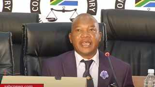 Inspector-General of Intelligence (IGI) Setlhomamaru Dintwe gave evidence at the state capture commission of inquiry. Screengrab: SABC/YouTube