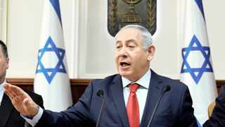 Israeli Prime Minister Benjamin Netanyahu's ultimatum for African refugees to leave Israel has been described as an extension of ethnic cleansing of Palestinians. Picture: Gali Tibbon / Reuters