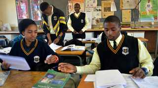 It is important for pupils to remain motivated and emotionally fit to sustain themselves throughout the year. Picture: Motlabana Monnakgotla
