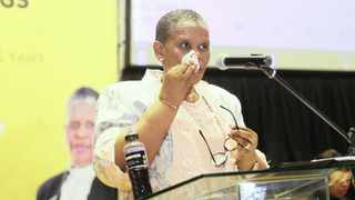 It was business as usual for embattled eThekwini mayor Zandile Gumede as she delivered the city's R50bn budget adoption on Wednesday morning the 29 May 2019 at the Durban City Hall, despite objections from opposition benches. Picture: Doctor Ngcobo/African News Agency(ANA)
