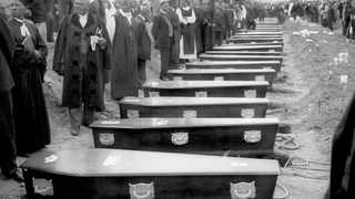 It was on March 21, 1960 when 69 Pan Africanist Congress sympathisers were shot dead by police during an anti-pass laws protest outside a police station in the southern Gauteng township of Sharpeville and four in Langa. Picture: Alf Kumalo/ANA Archives