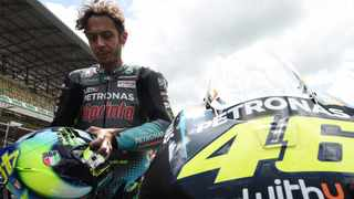 Italian MotoGP great Valentino Rossi will hang up his helmet at the end of this season. File picture: Jean-Francois Monier / AFP.