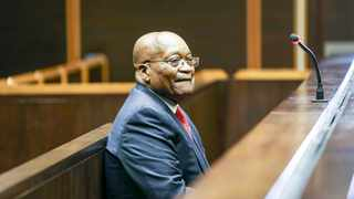 Jacob Zuma in the dock at the Pietermaritzburg High Court on charges of fraud, corruption, money laundering and racketeering. File Picture Leon Lestrade. African News Agency/ANA