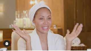 Jada Pinkett Smith shares the secret to achieving her radiant glow. Picture: Instagram