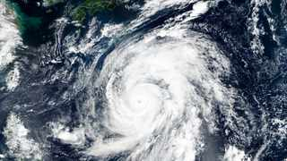 Japan's weather agency is warning a powerful typhoon may bring torrential rains to central Japan over the weekend. Picture: NASA Worldview, Earth Observing System Data and Information System (EOSDIS) via AP
