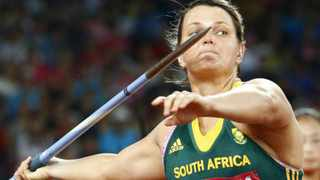 Javelin thrower Sunette Viljoen has claimed minister of Sport and Recreation Fikile Mbalula snubbed her at a function. Picture: DIEGO AZUBEL