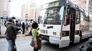 Joburg Metrobus service operated at 70% on Monday as some drivers affiliated to the Democratic Municipal and Allied Workers Union of SA initiated their indefinite strike. File Picture: Steve Lawrence