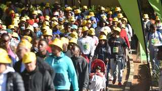 Joburgers are lacing up their walking shoes as they prepare for the annual 702 Walk The Talk and not even Covid-19 will stop them from clocking their steps target tomorrow. Picture: Itumeleng English/African News Agency (ANA)