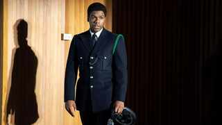 John Boyega as Leroy Logan in 'Red, White and Blue'. Picture: BBC Brit