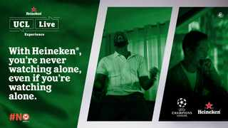 Join the #HeinekenUCLLive conversation on Heineken South Africa's Twitter account on game night and be part of the ultimate UCL football experience.