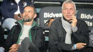Josef Zinnbauer, coach of Orlando Pirates (left) and Ernst Middendorp, coach of Kaizer Chiefs (right) seem to have turned the fortunes around for their respective teams. Picture: Muzi Ntombela/BackpagePix