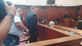 Judge Gayaat Salie-Hlophe revoked Rohde's bail of R100 000 and he was immediately remanded in custody. Photo: Chevon Booysen