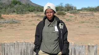 Justa Frans has been appointed as South Africa's first female tracker. Pic: Supplied