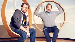 Justin Roiland and Dan Harmon are the creators of 'Rick and Morty'. Picture: Supplied