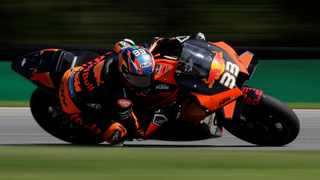 KTM's Brad Binder in action during the race. Picture: David W Cerny / Reuters.