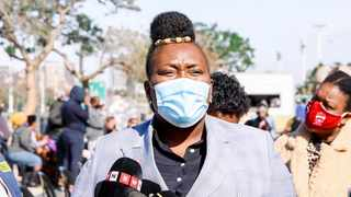 KZN Health MEC Nomagugu Simelane visited the Phoenix Medico-Legal Mortuary on Wednesday and Friday following rumours that bodies from Phoenix killings were piling up at the mortuary. Picture: Facebook