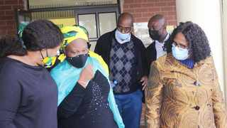 KZN MEC for Transport, Community Safety and Liaison, Neliswa Peggy Nkonyeni, led a delegation made up of interfaith leaders during visits to families who have lost loved ones. Picture: SUPPLIED