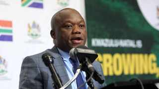 KZN Premier Sihle Zikalala is ramping up efforts to get 7.2 million people vaccinated by March next year. Picture: Motshwari Mofokeng/African News Agency (ANA)