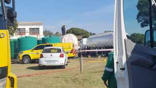 KZN police have opened an inquest docket after a 34-year-old man was killed following a tanker explosion in Cliffdale this weekend. Picture: ER24