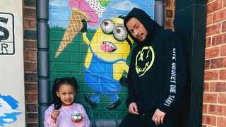 Kairo Forbes and AKA. Picture: Instagram