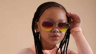 Kairo Forbes rocks her new sunglasses. Picture: Supplied.