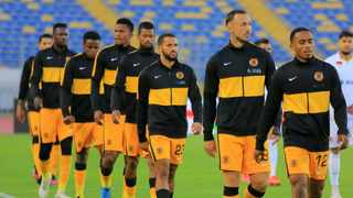Kaizer Chiefs at Stade Mohamed V in Casablanca Morocco. Photo: BackpagePix