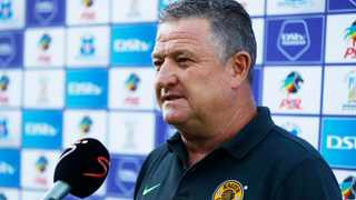 Kaizer Chiefs coach Gavin Hunt says they won't be taking Simba FC lightly. Picture Steve Haag Sports via BackpagePix