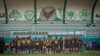Kaizer Chiefs during a training session ahead of the CAF Champions League final. Photo: Toby Ginsberg (KC Studio)